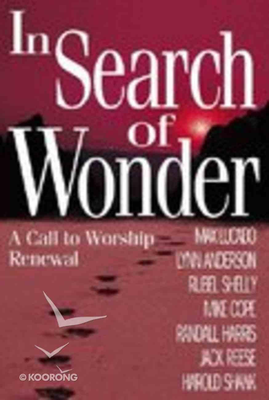 In Search of Wonder Hardback