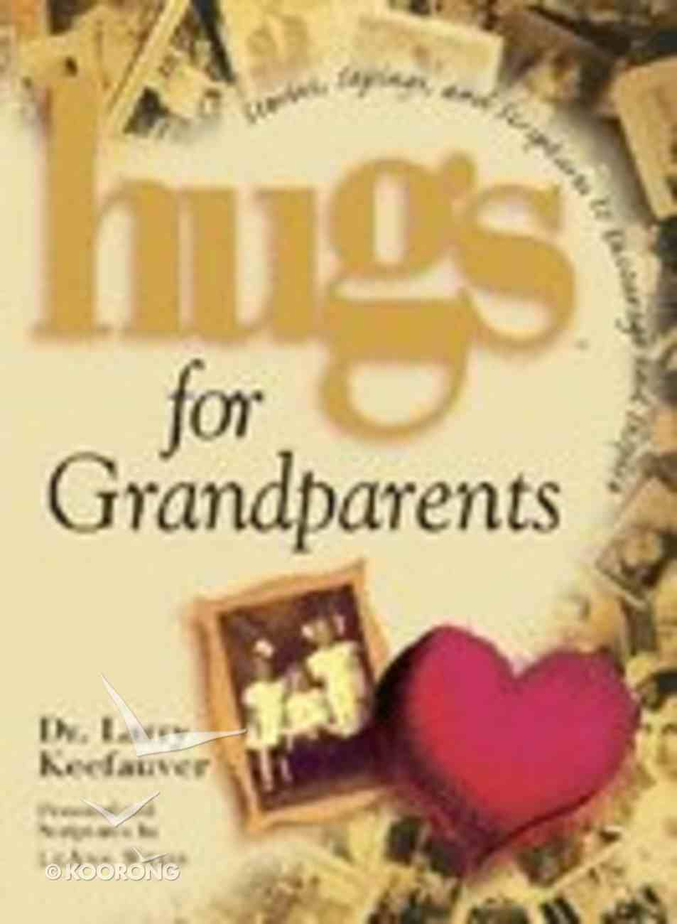 Hugs For Grandparents Hardback