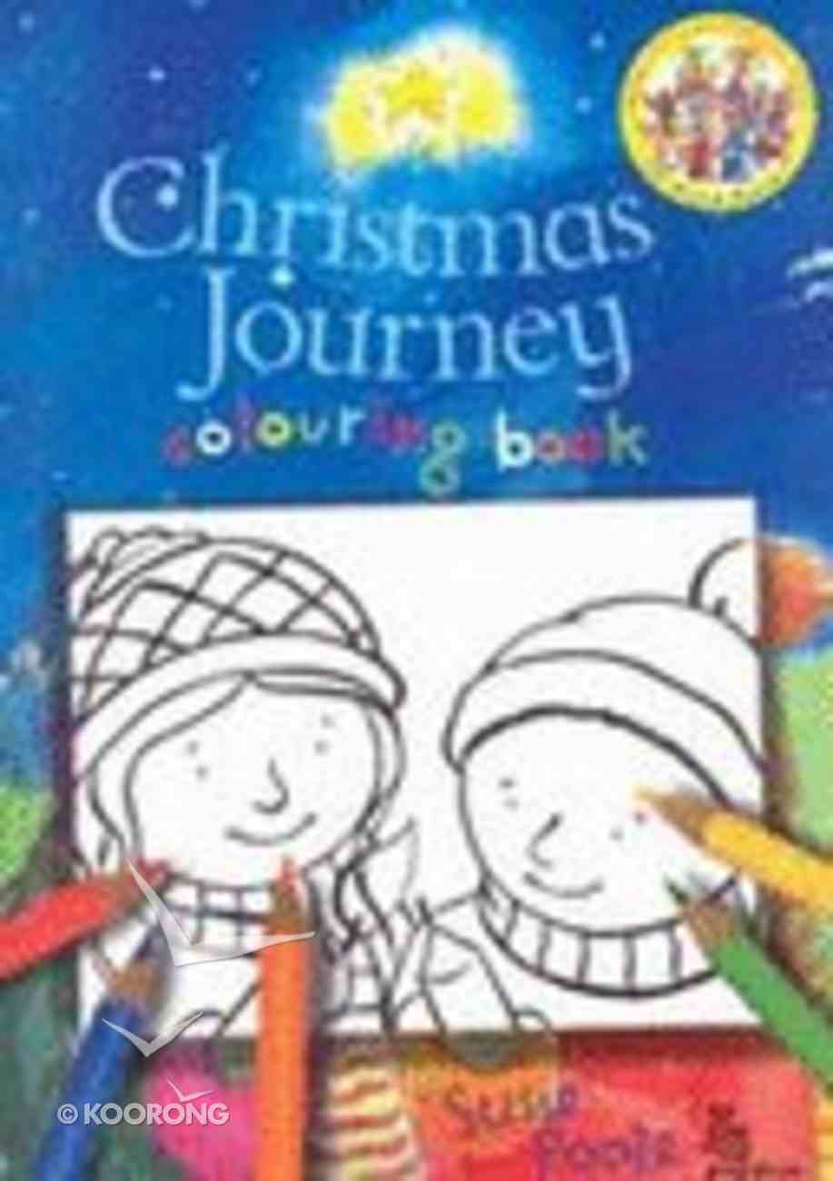 Christmas Journey Colouring Book Paperback