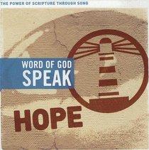 Album Image for Hope (Word Of God Speak Series) - DISC 1