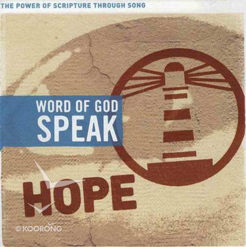 Hope (Word Of God Speak Series) CD
