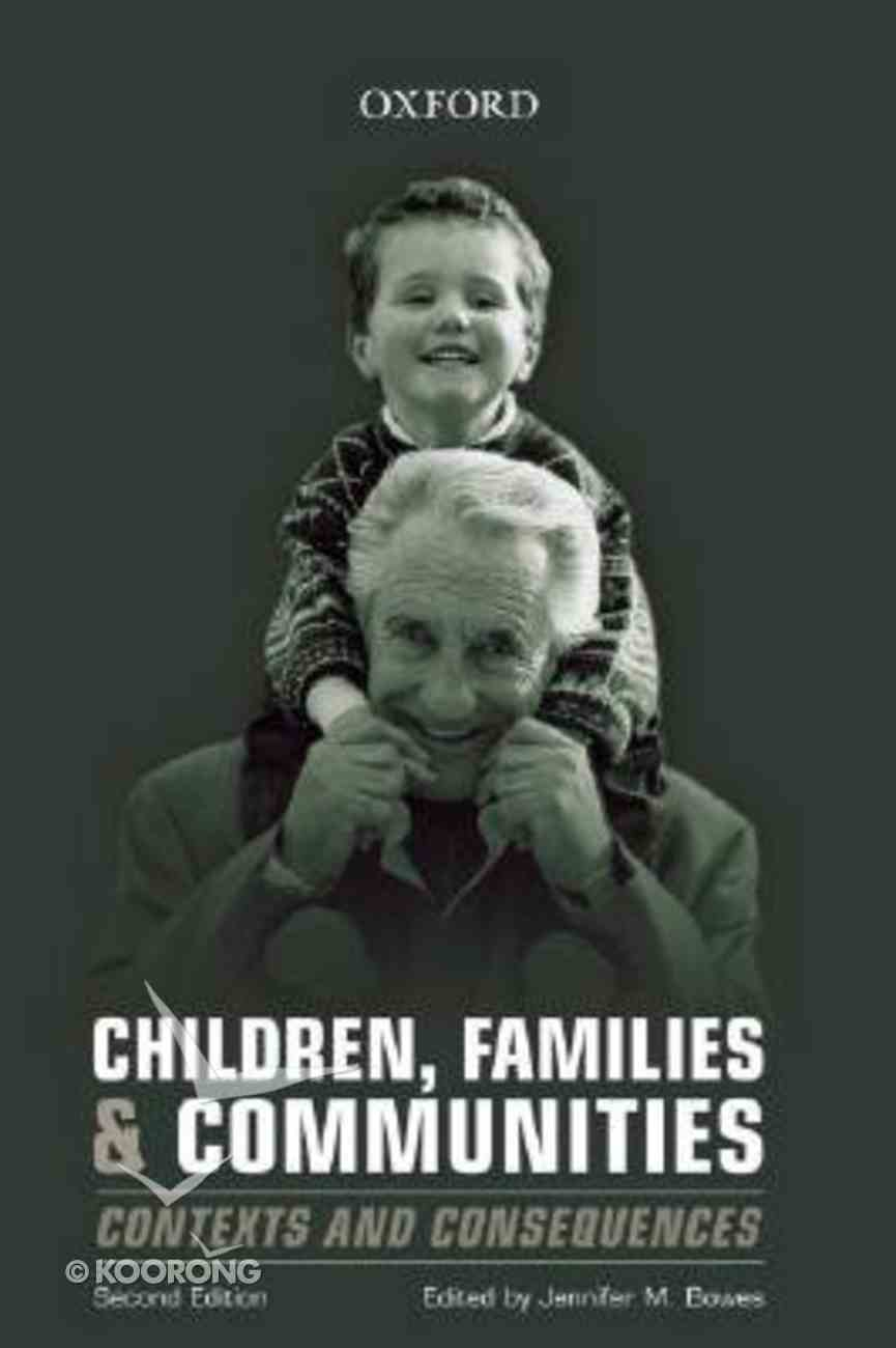 Children, Families and Communities Paperback