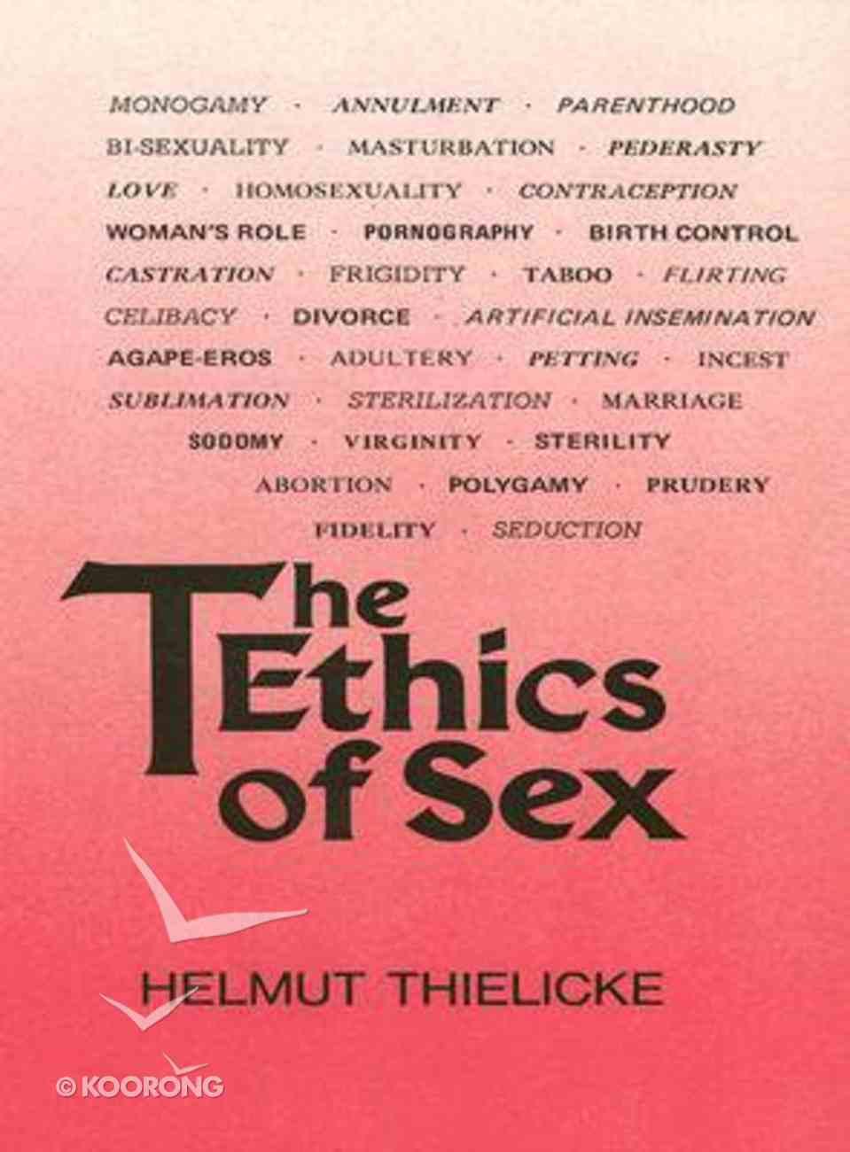 Ethics of Sex Hardback