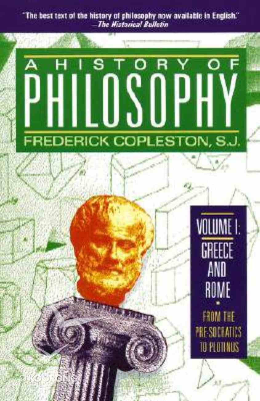 History of Philosophy (Vol 1) Paperback