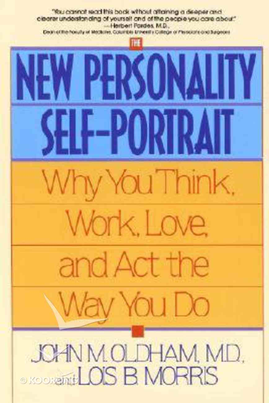 New Personality Self Portrait Paperback