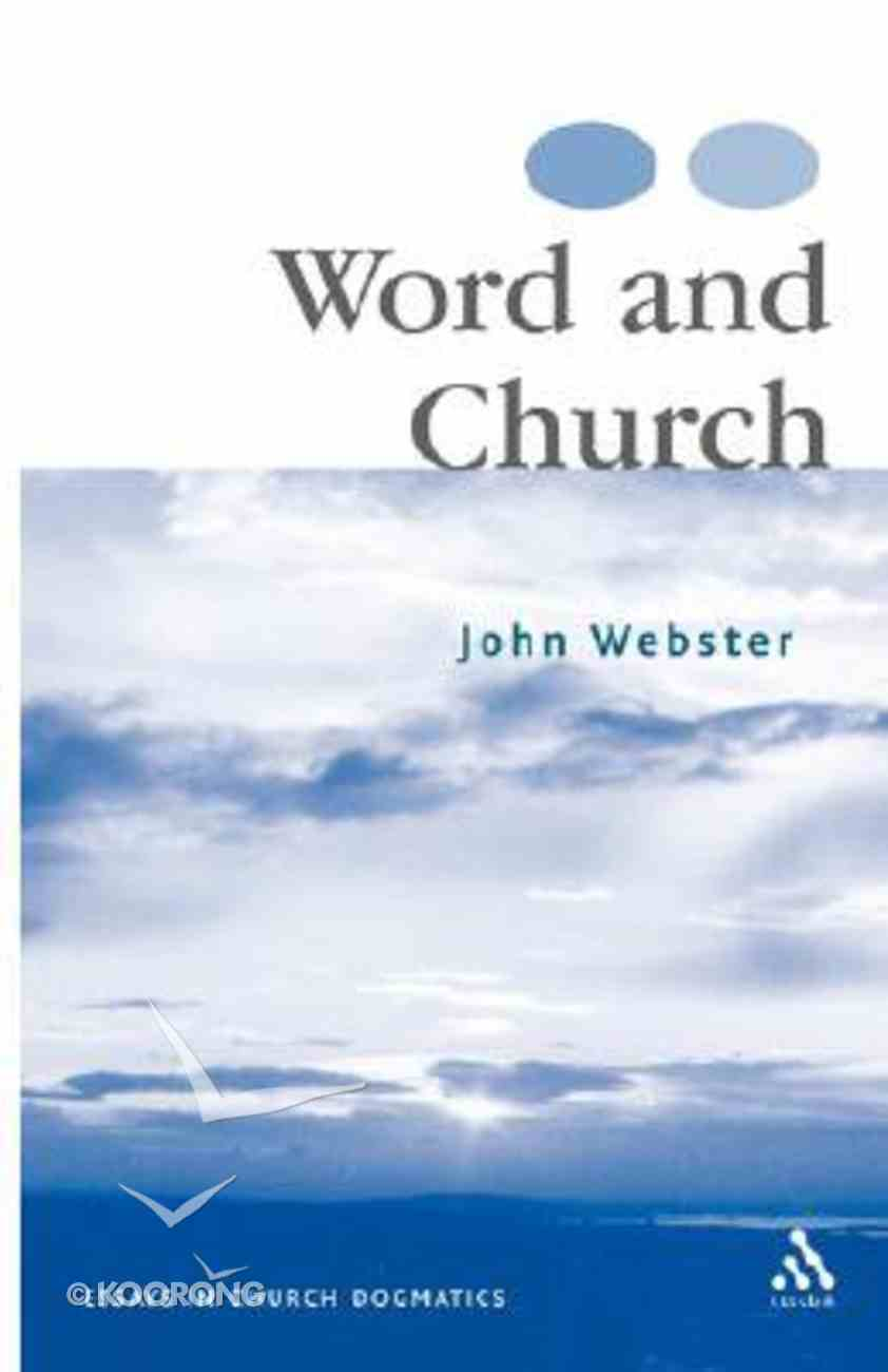 Word and Church Paperback