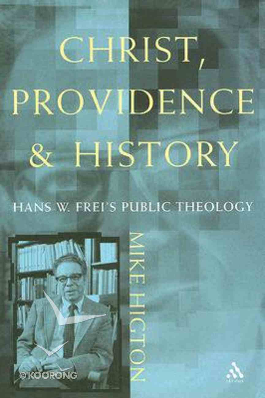 Christ, Providence and History Paperback