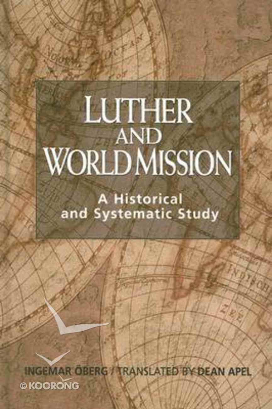 Luther & World Mission Hardback