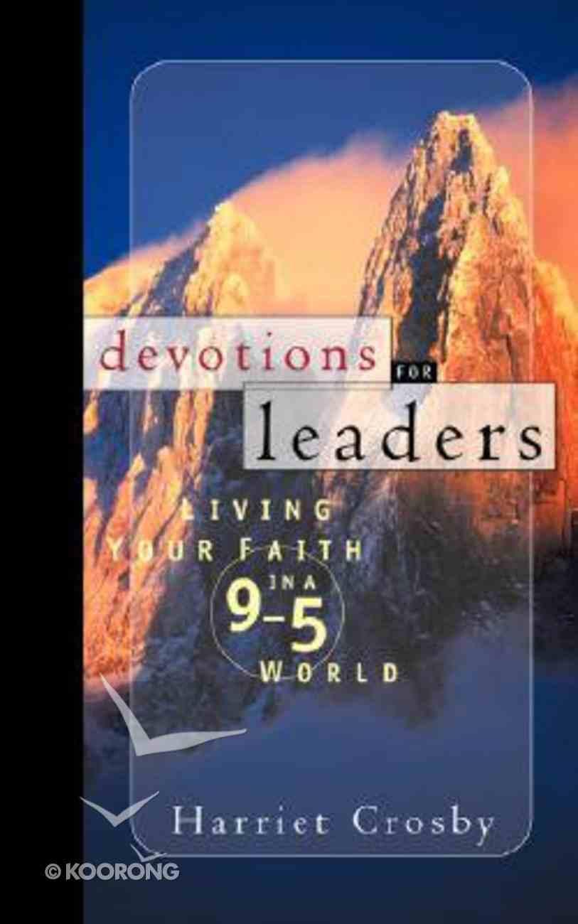 Devotions For Leaders Hardback