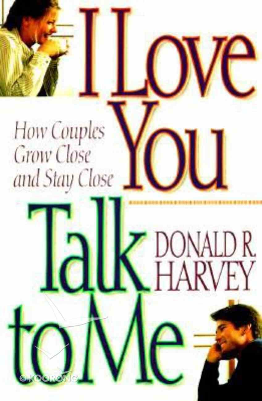 I Love You - Talk to Me! Paperback