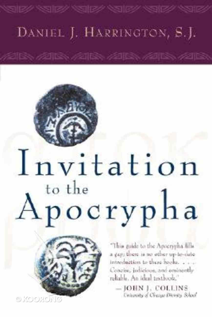 Invitation to the Apocrypha Paperback