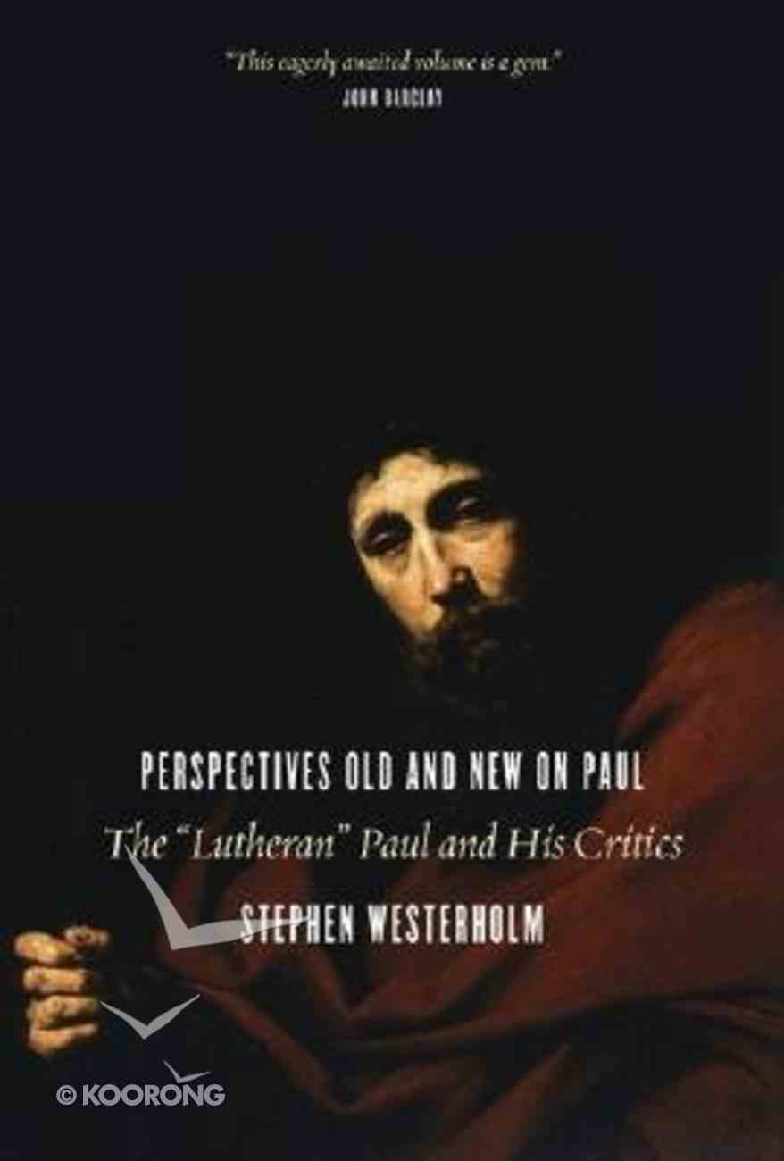 Perspectives Old and New on Paul Paperback