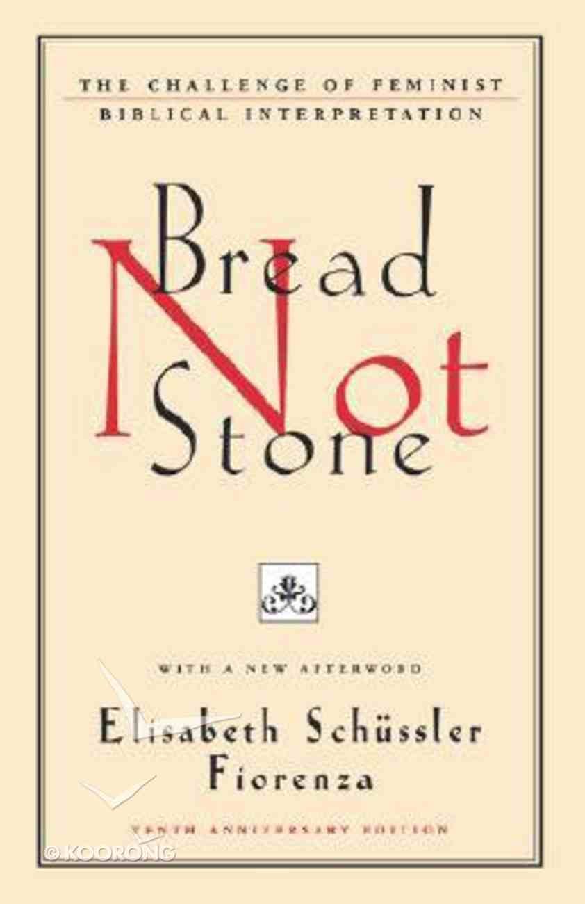 Bread Not Stone Paperback
