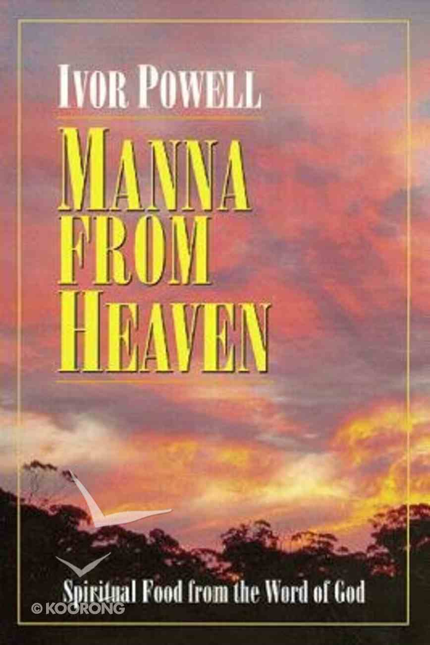 Manna From Heaven Paperback