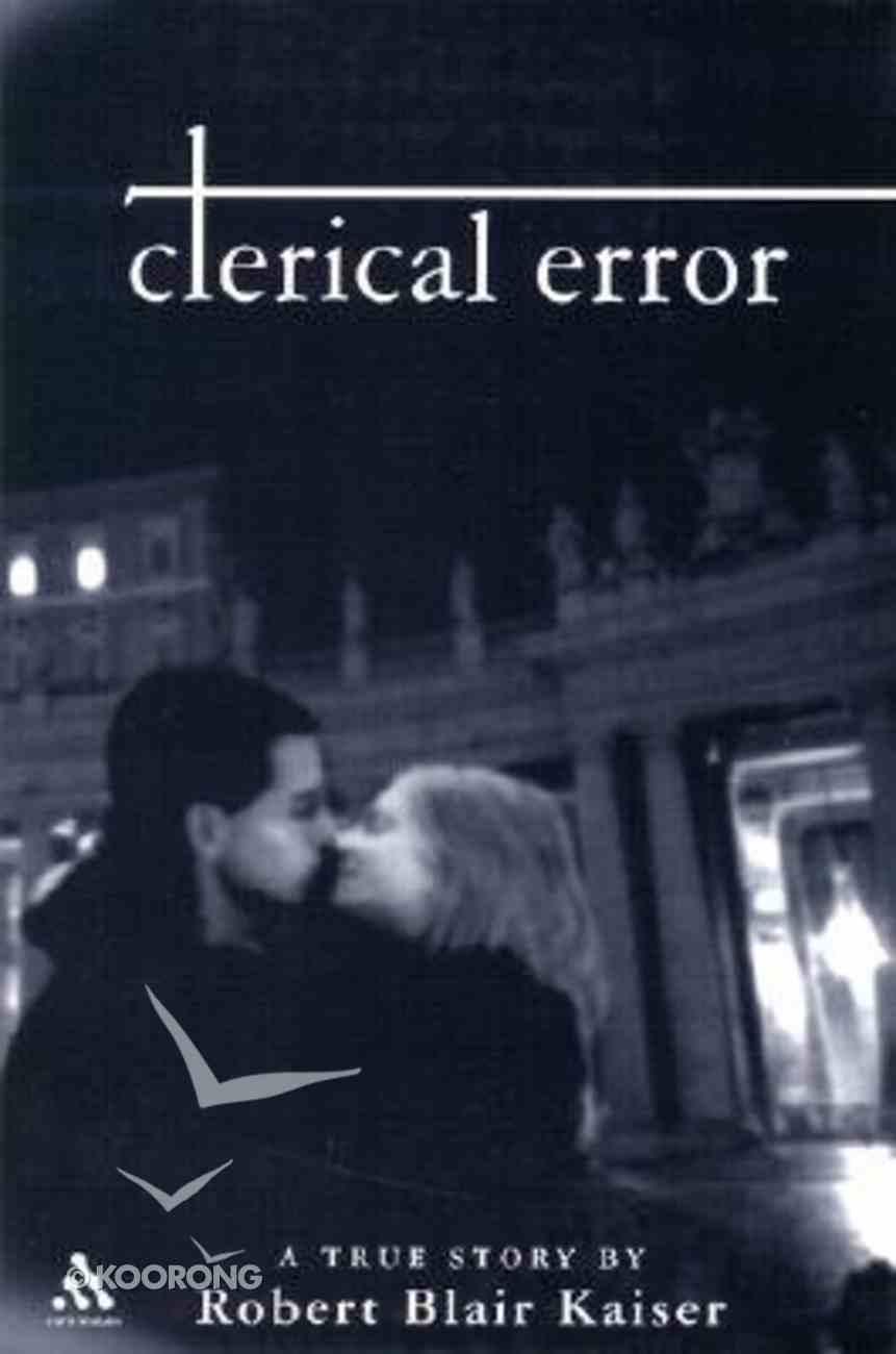 Clerical Error Hardback