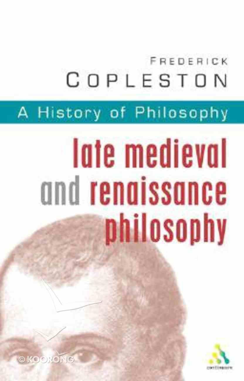 History of Philosophy (Vol 3) Paperback