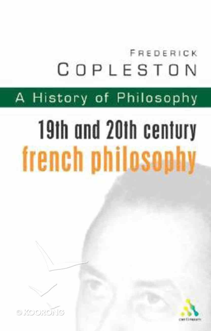 History of Philosophy (Vol 9) Paperback