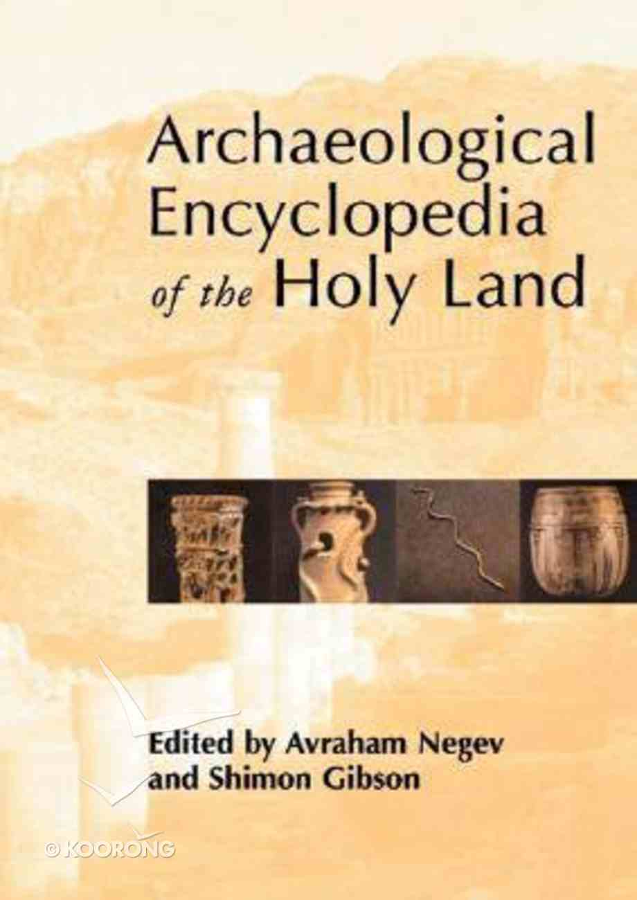 Archeological Encyclopedia of the Holy Land Paperback