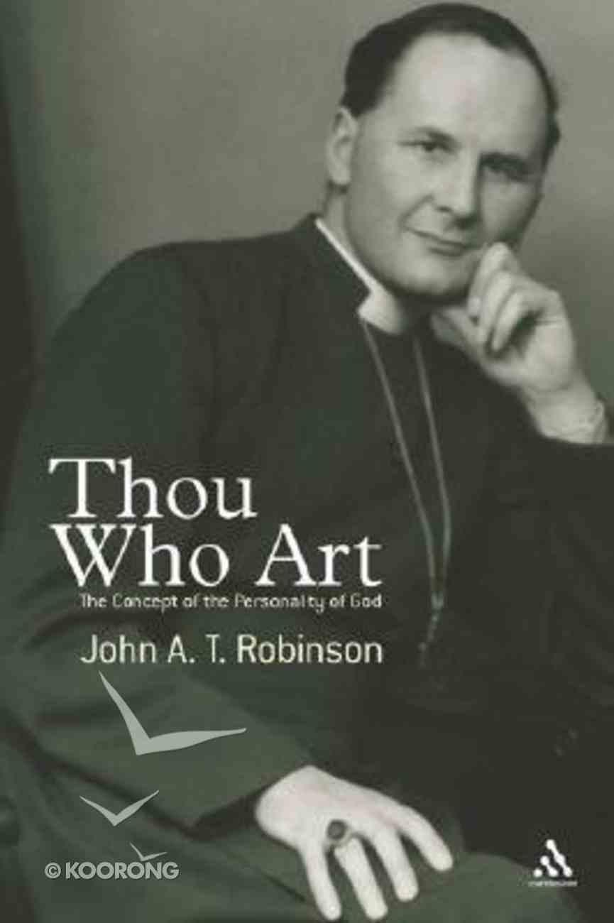 Thou Who Art Hardback