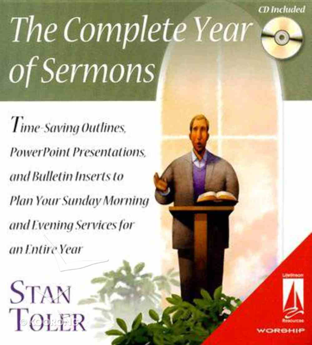 The Complete Year of Sermons (Includes CD) (Lifestream Resources Kits Series) Ring Bound