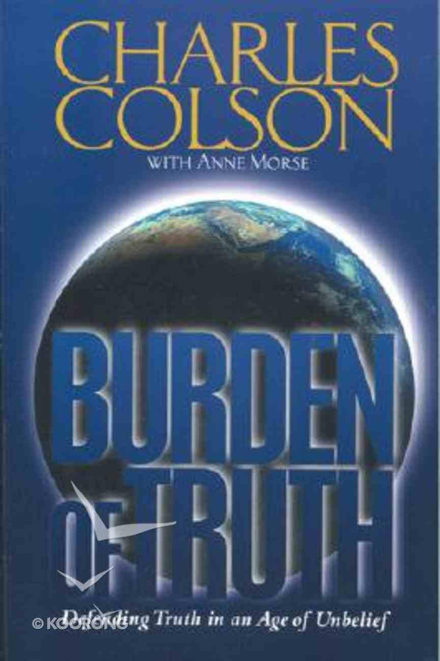 Burden of Truth Paperback