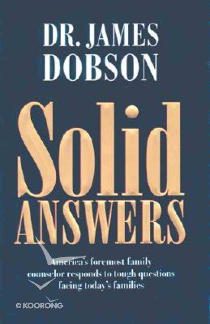Solid Answers Hardback