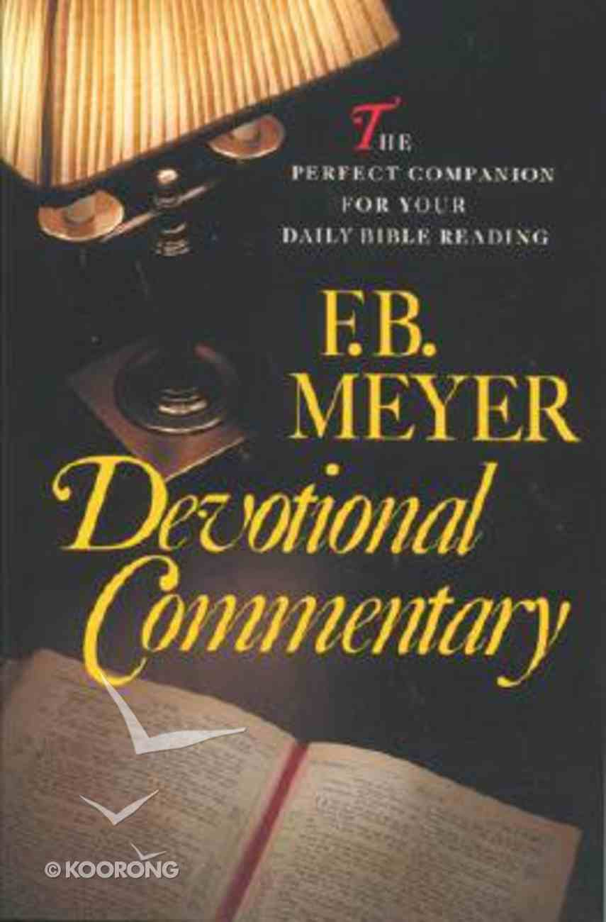 Meyer Devotional Commentary Paperback