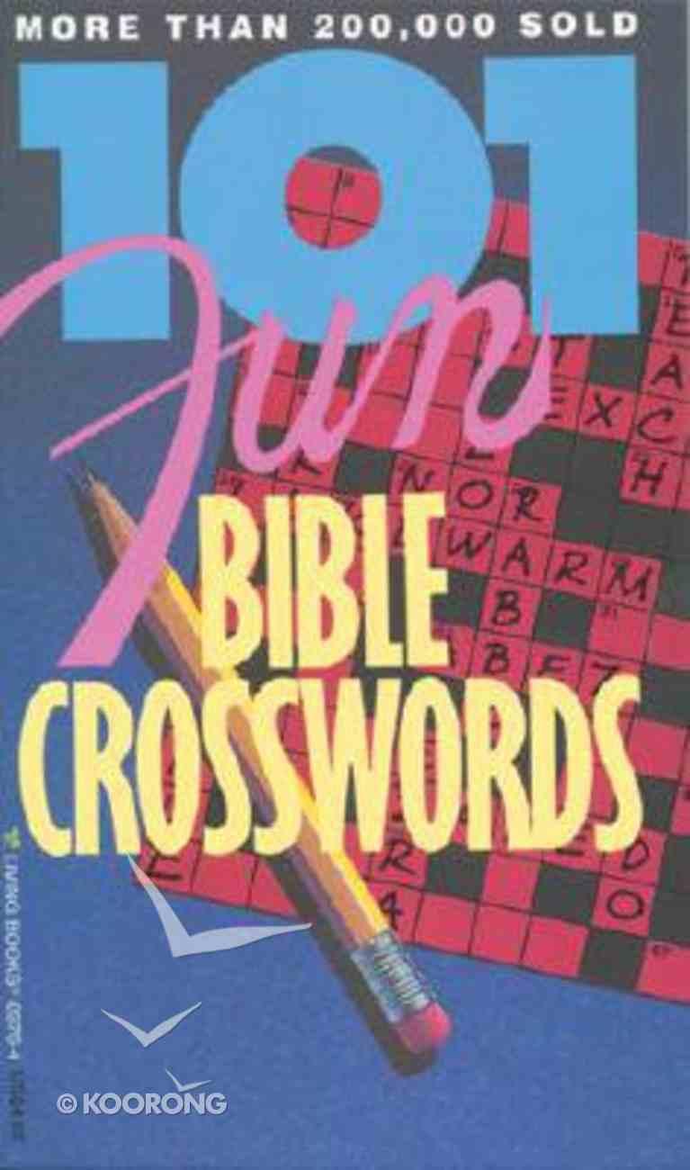 101 Fun Bible Crosswords Paperback