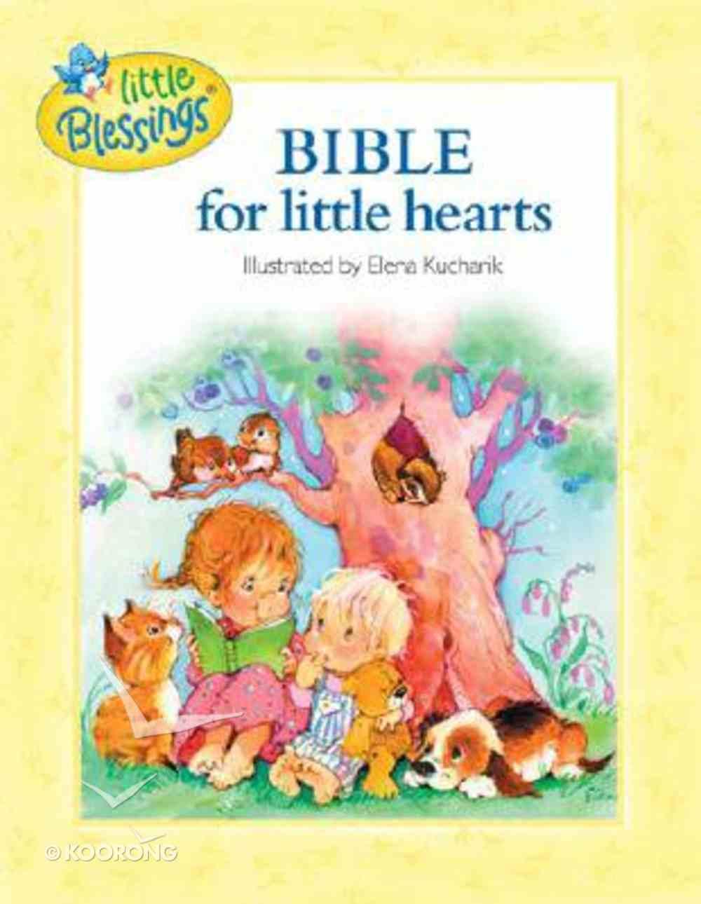 Bible For Little Hearts Hardback