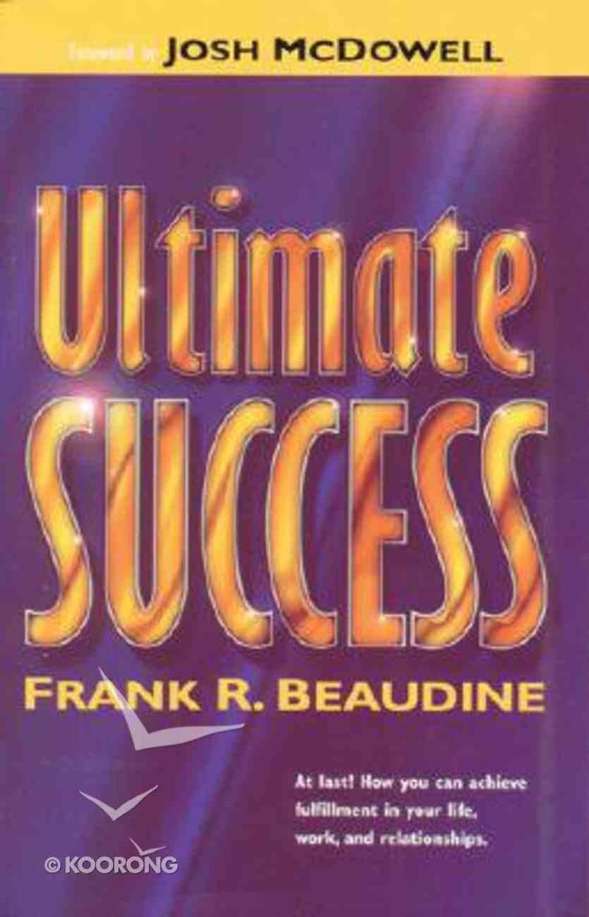 Ultimate Success Paperback