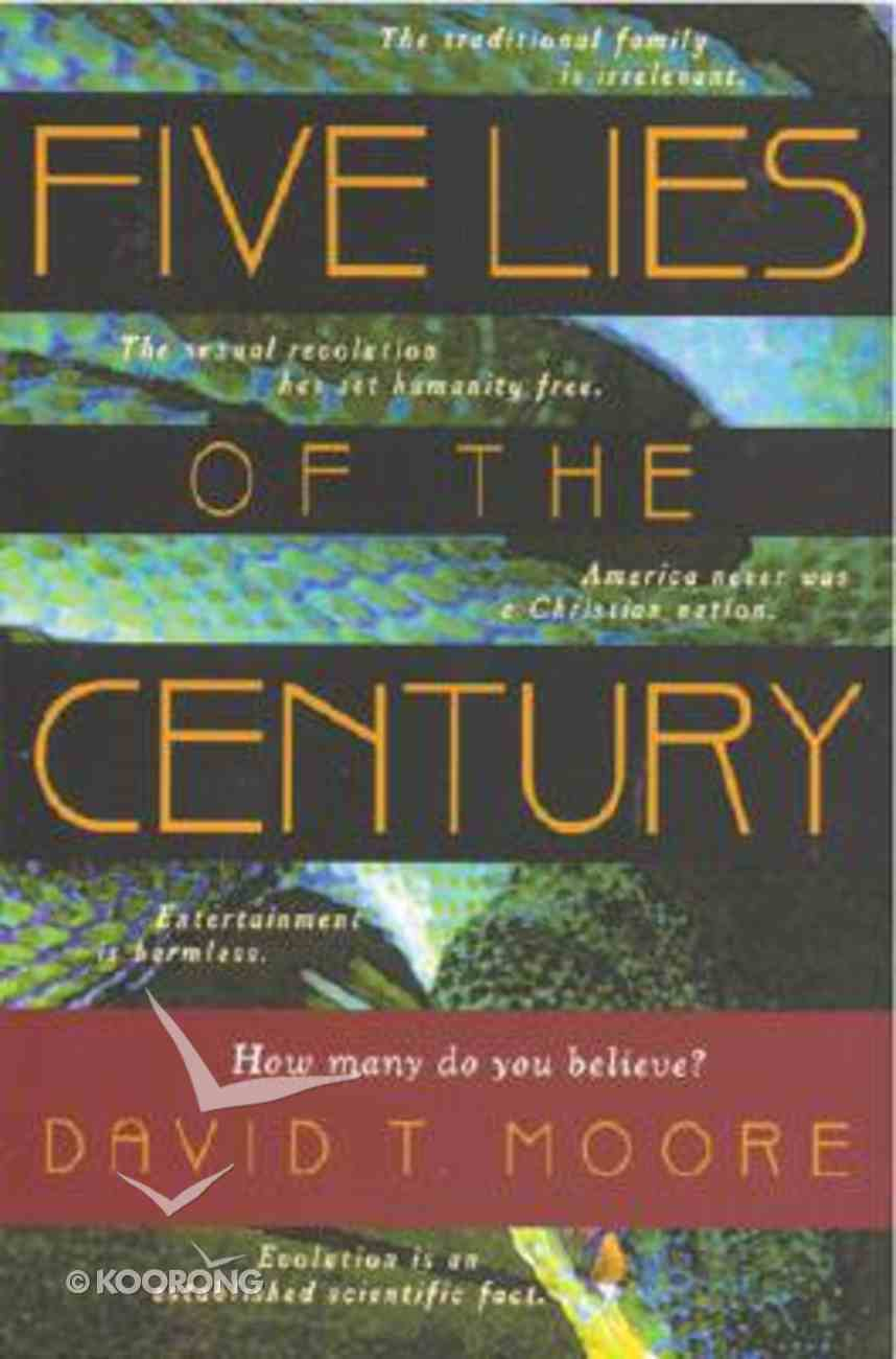 Five Lies of the Century Paperback