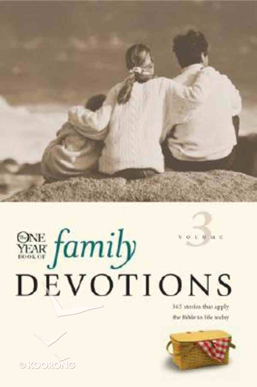 One Year Book of Family Devotions (Vol 3) Paperback