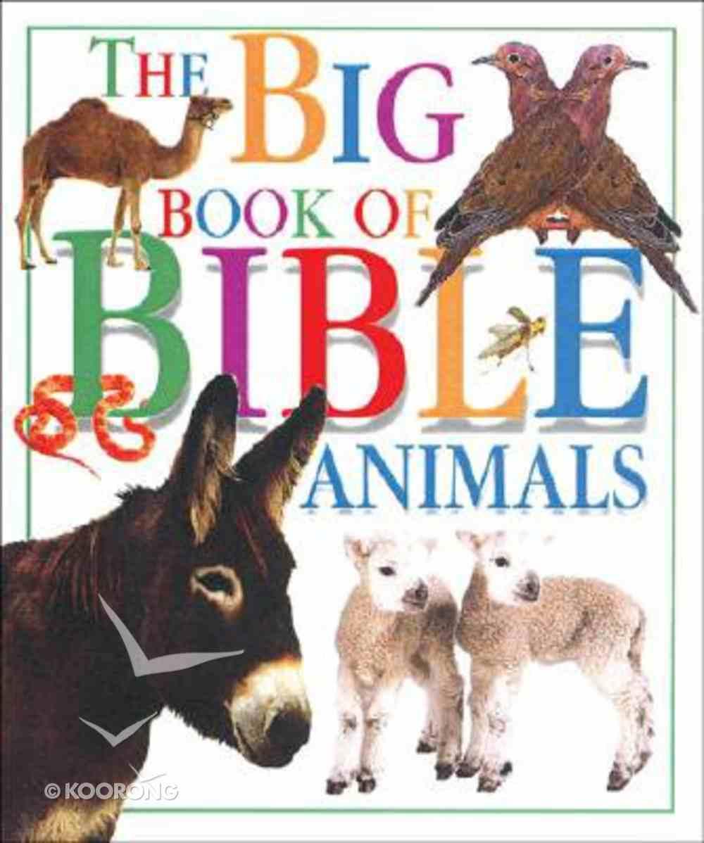 Big Book of Bible Animals Hardback