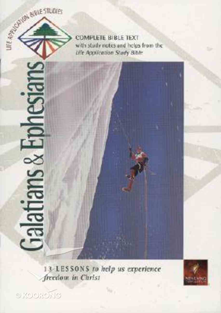 Labs NLT Galatians & Ephesians (Life Application Bible Study Series) Paperback