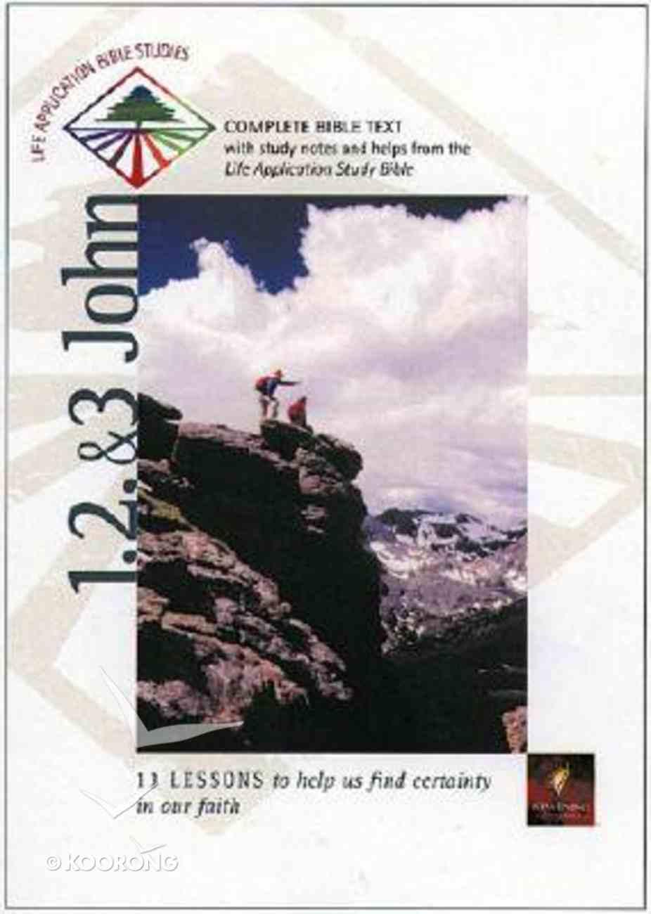 Labs NLT 1,2&3 John (Life Application Bible Study Series) Paperback