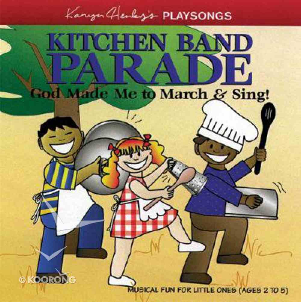 Playsongs Kitchen Band Parade (Playsongs Series) CD