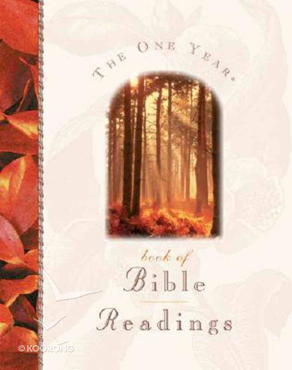 The One Year Book of Bible Readings Hardback