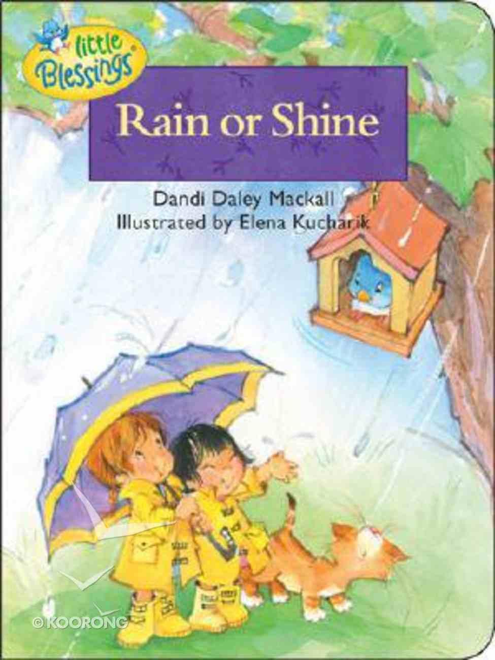 Rain Or Shine Board Book
