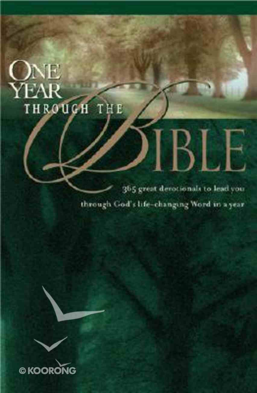 One Year Through the Bible Paperback