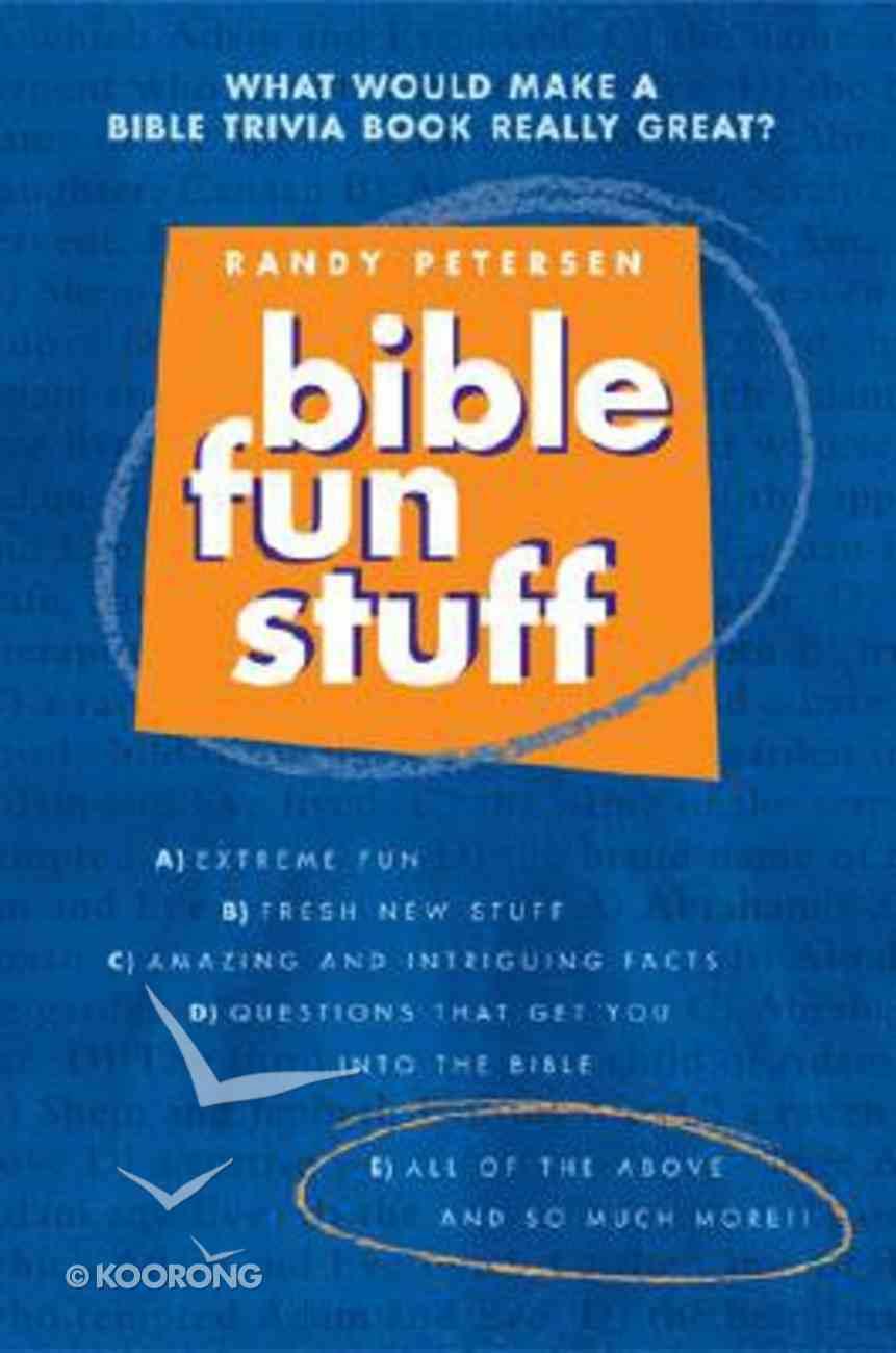 Bible Fun Stuff Paperback