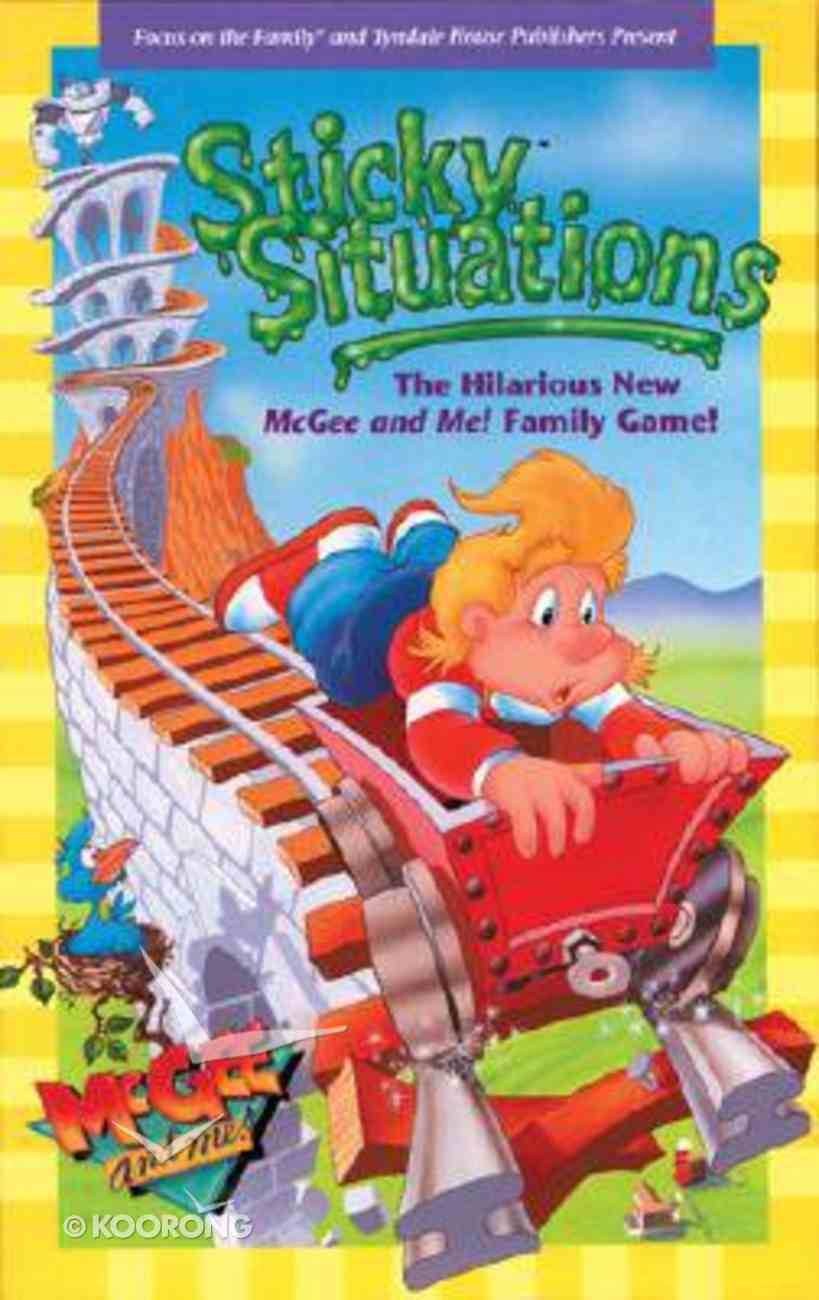 Sticky Situations (Game) (Mcgee & Me Series) Game