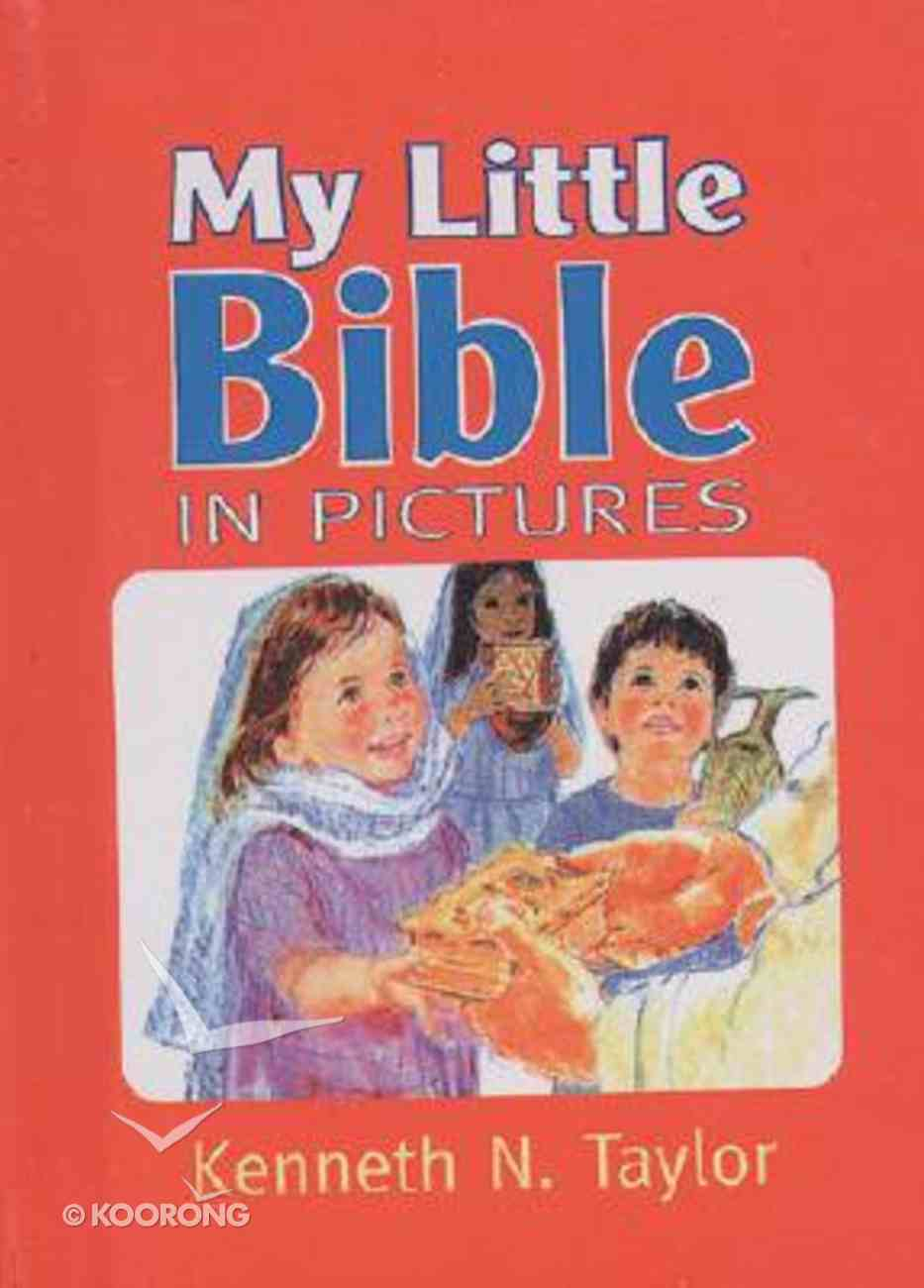 My Little Bible in Pictures With Handle Hardback