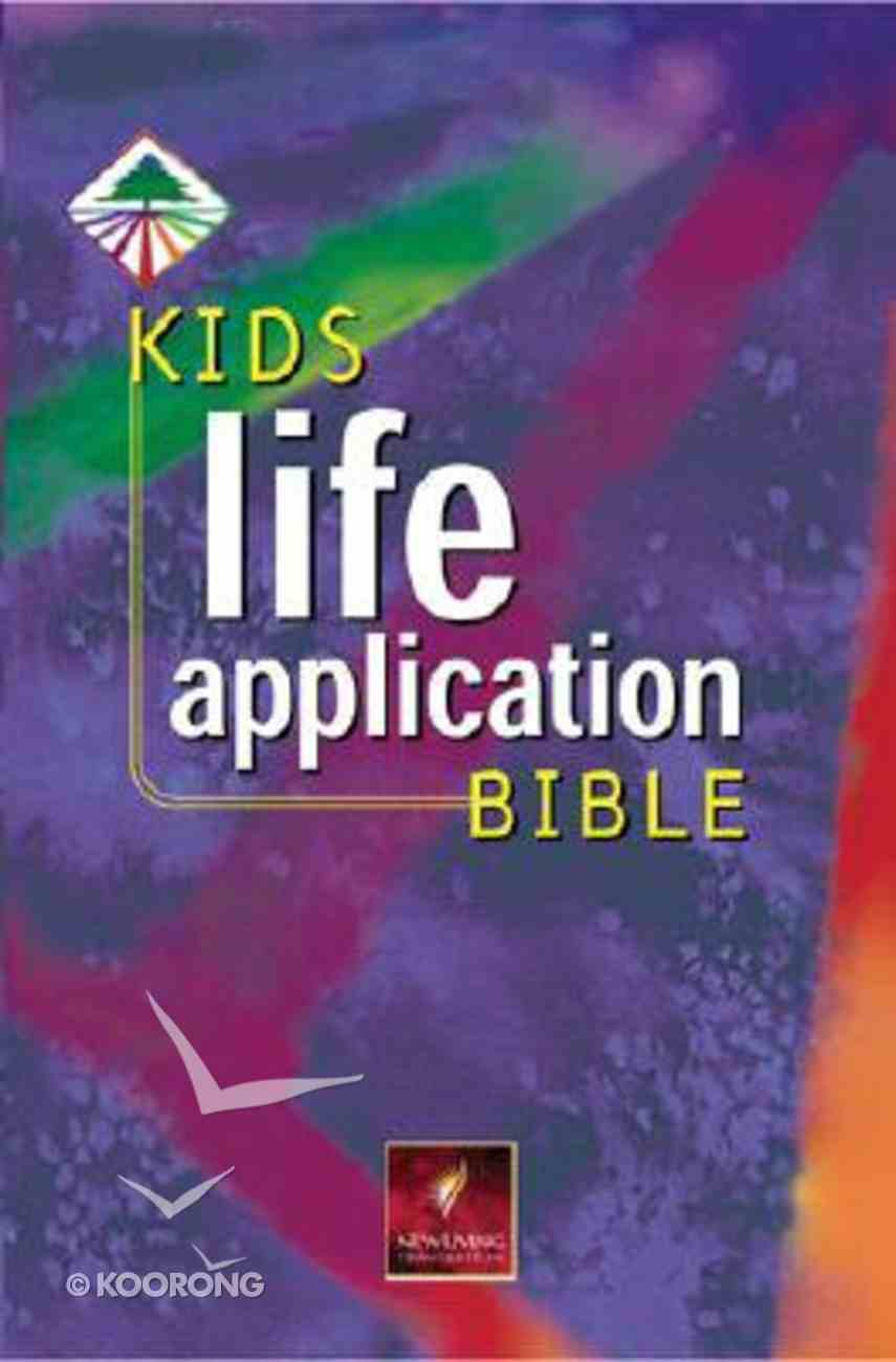 NLT Kids Life Application Bible Indexed Hardback