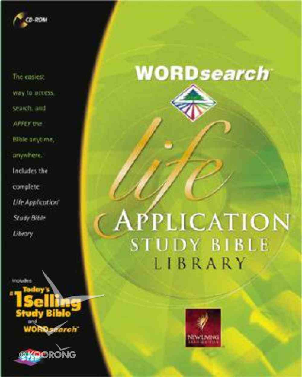 Wordsearch Life Application Study Bible Library CDROM CD-rom
