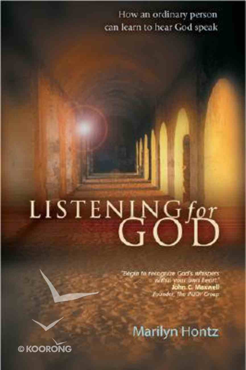 Listening For God Paperback