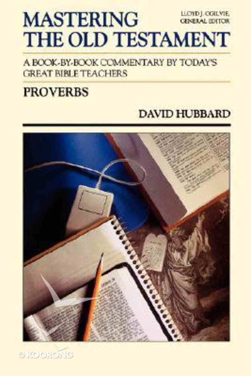 Mastering OT Proverbs Paperback