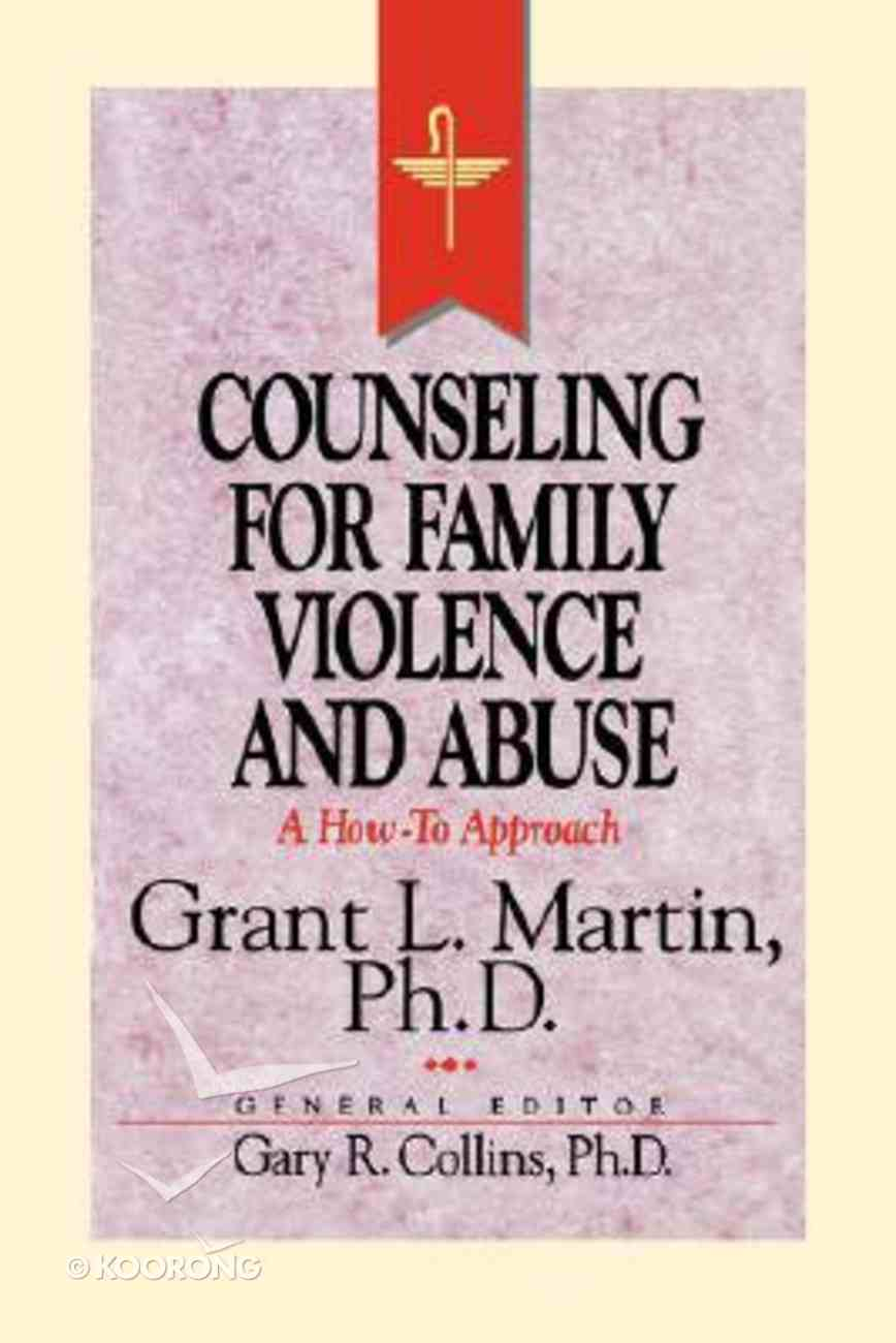 Rcc Counseling For Family Violence and Abuse Paperback