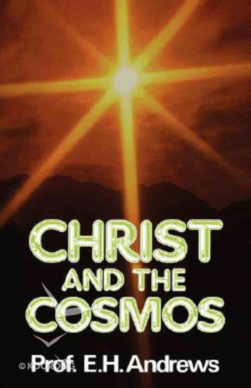 Christ and the Cosmos Paperback