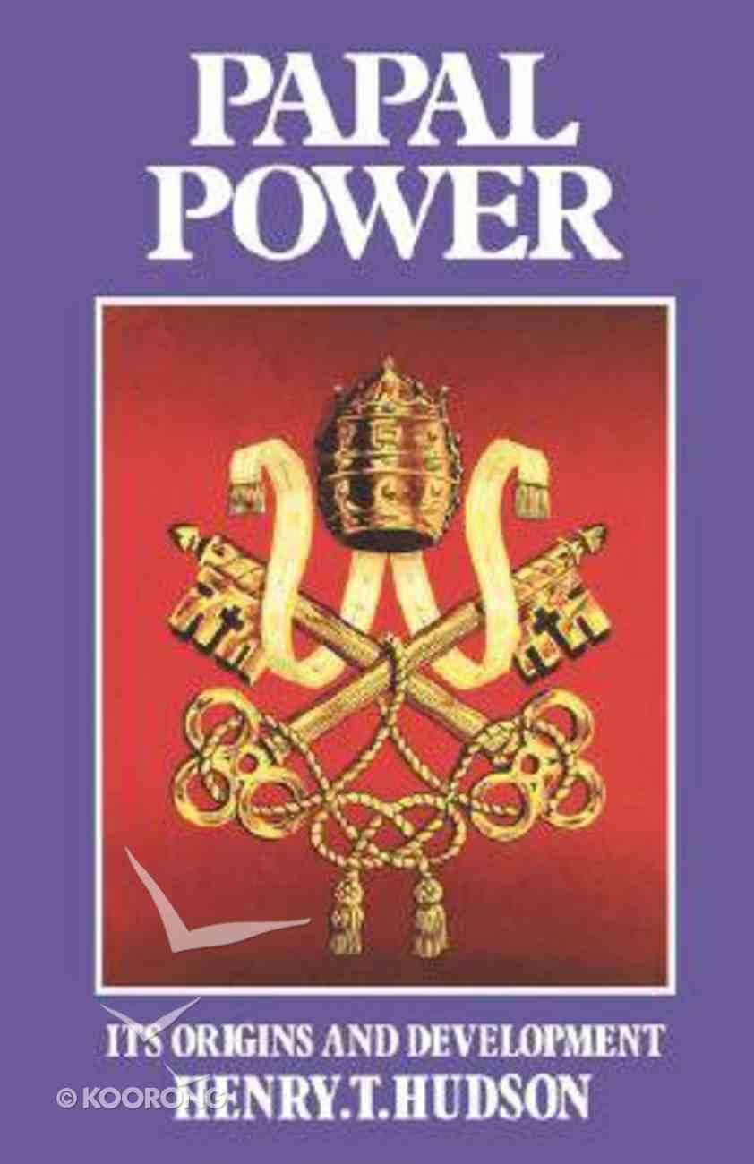 Papal Power Paperback