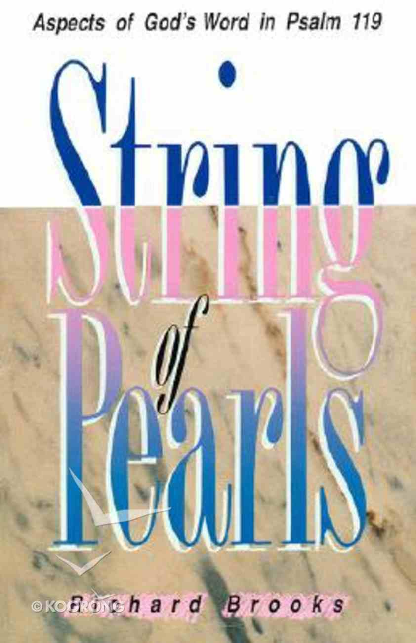 String of Pearls (Psalm 119) Paperback